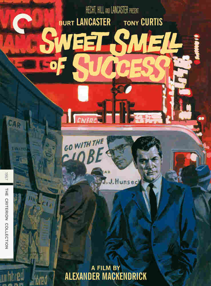 DVD Box Cover for Sweet Smell of Success