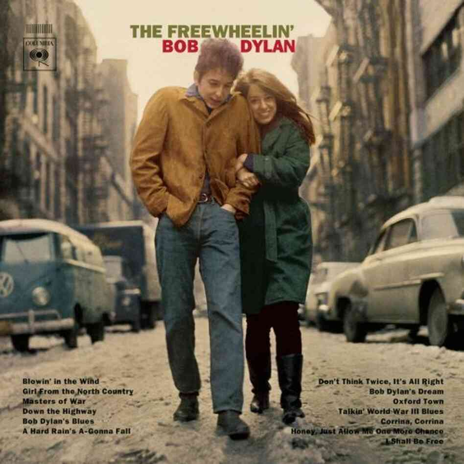 Suze Rotolo, at right with Bob Dylan, chronicled their relationship and the Greenwich Village milieu it played out in, in A Freewheelin' Time: A Memoir of Greenwich Village.
