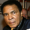 "Boxing legend Muhammad Ali arrives at ""Celebrity Fight Night X,"" a charity event to raise money for the Muhammad Ali Parkinson Research Center at Barrow Neurological Institute in March 2004."
