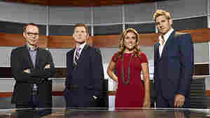 Steve Ells (from left), Bobby Flay, Lorena Garcia and Curtis Stone are the investors and judges on NBC's America's Next Great Restaurant.