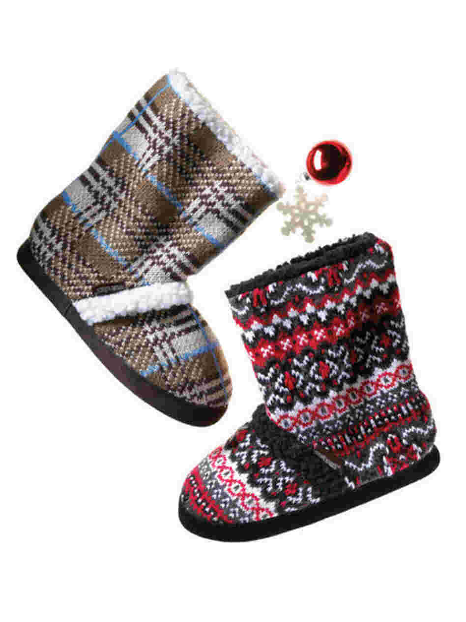 "A pair of Christmas booties. Using the word ""booty"" to mean ""plunder"" has become impractical, as other connotations have overtaken its original meaning, religious scholars say."