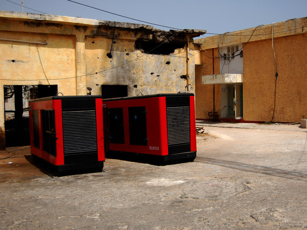 In a city where the government provides almost no services, Radio Mogadishu  runs off two huge diesel generators.