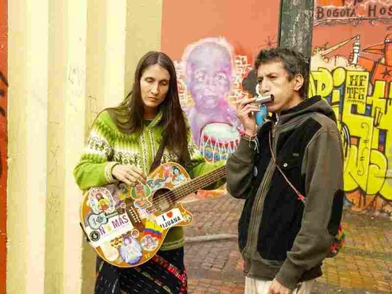 Colombian rock icons Aterciopelados: Andrea Echeverri and Hector Buitrago.