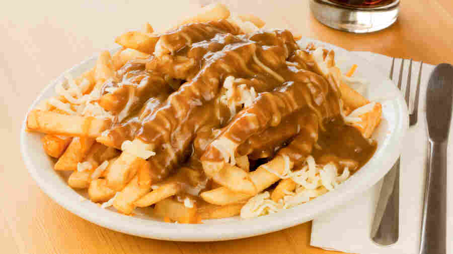 Caloric French Canadian comfort food: poutine.
