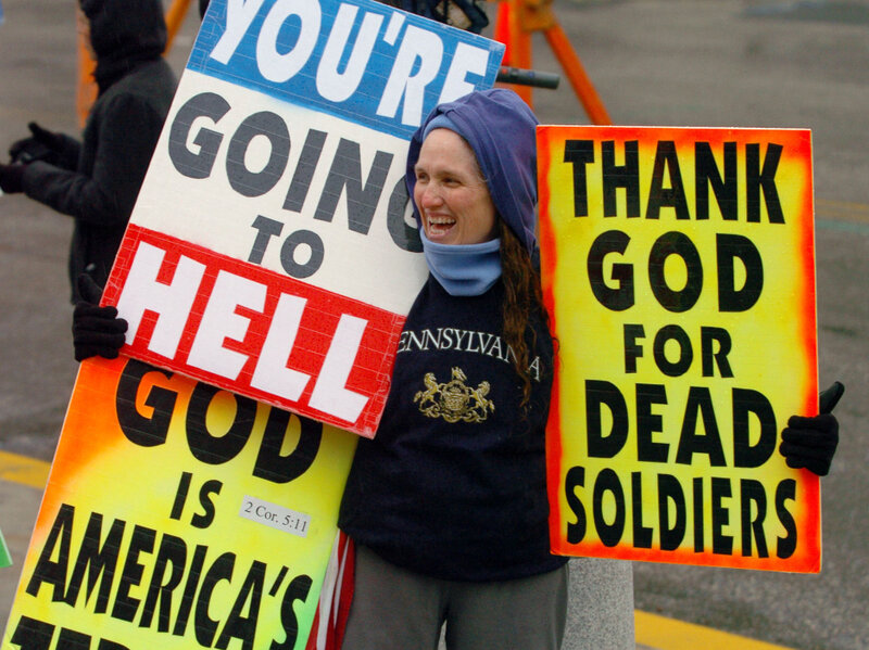 Image result for westboro baptist