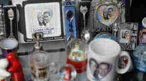 Memorabilia for the wedding of Britain's Prince William and Kate Middleton are on sale in London, Wednesday, March 2, 2011.  The wedding takes place on April 29.
