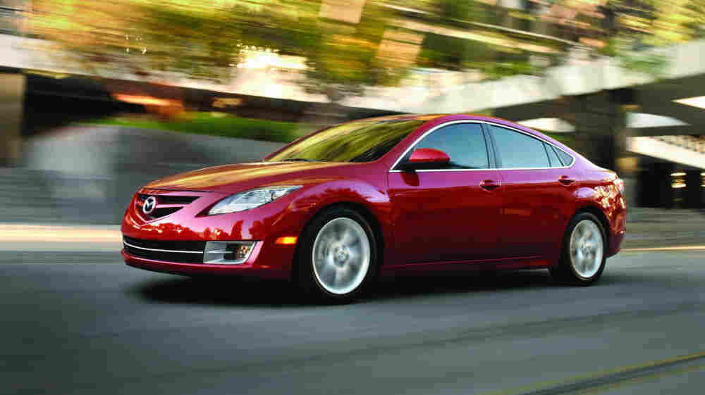 Mazda has recalled two model years of the Mazda6 sedan after a spider web was found in a car's gas-tank ventilation system.