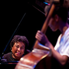 Geri Allen (left) and Esperanza Spalding perform together at the Mary Lou Williams Festival in 2010.