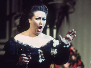 Montserrat Caballé.