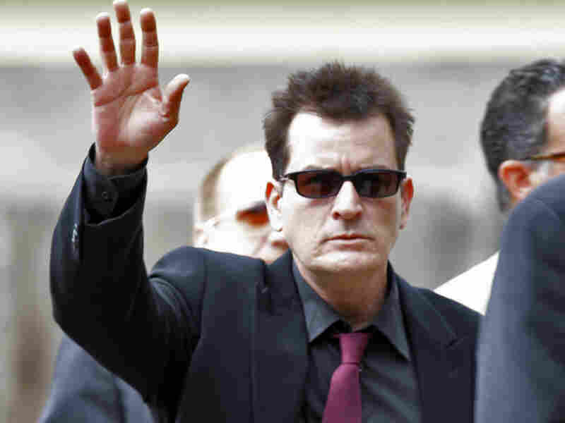 Actor Charlie Sheen's bizarre media blitz has struck a chord with some people in recovery.