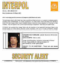 Interpol Alert Bulletin
