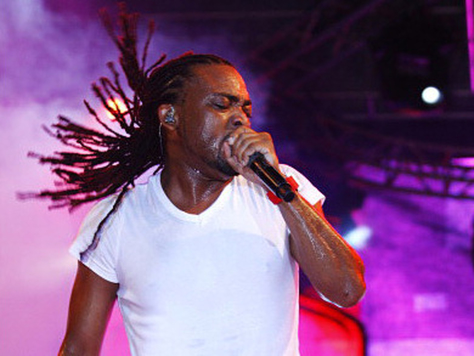 Machel Montano performing in Port of Spain, Trinidad, in February. (LatinContent/Getty Images)