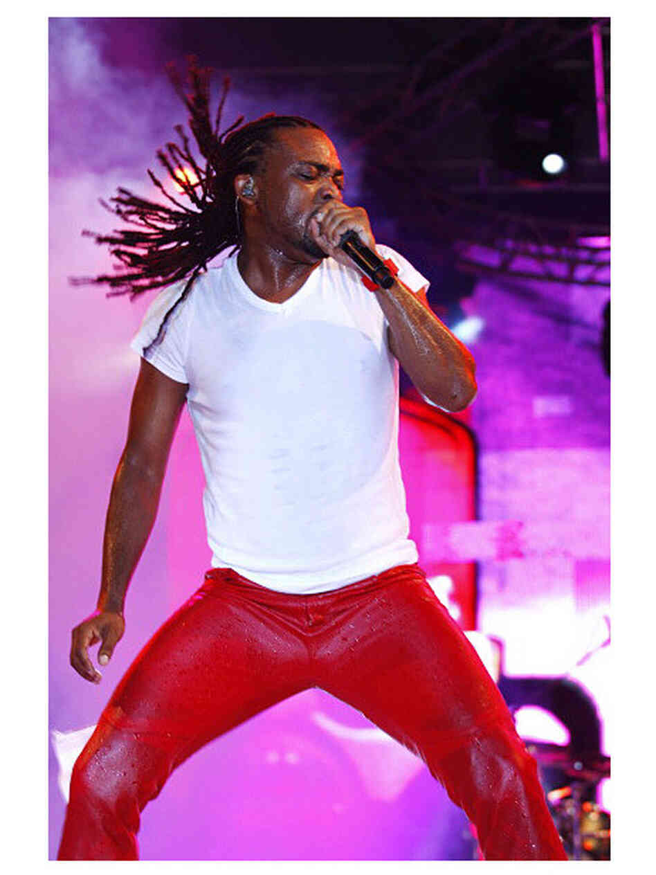Machel Montano performing in Port of Spain, Trinidad, in February.
