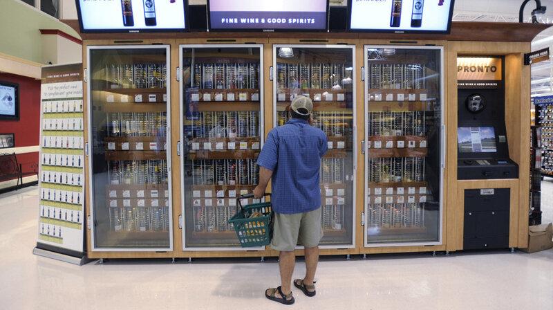 Vending Machines Make Gains As Retail Jobs Drop: Do We All Lose
