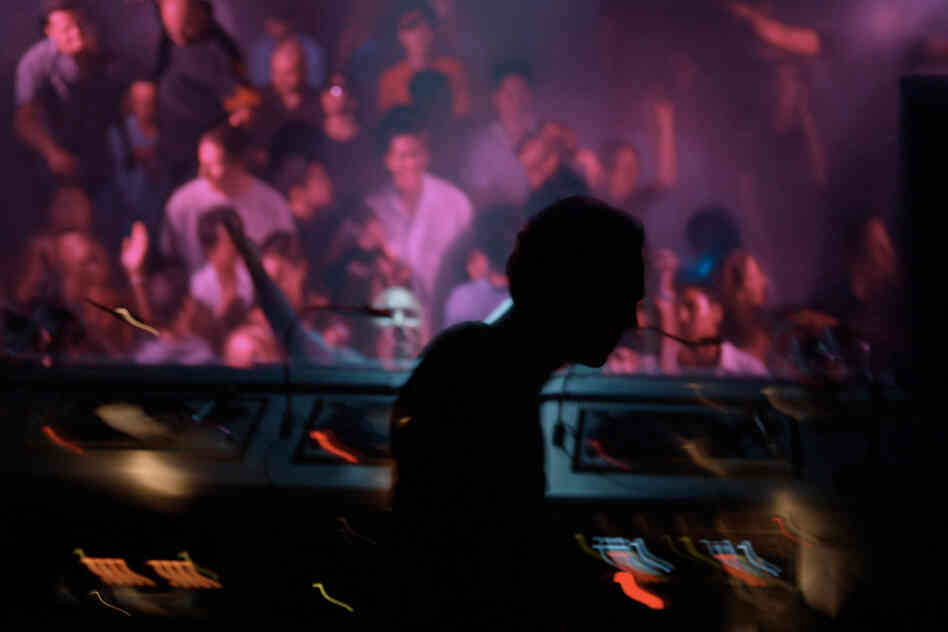 Tiesto spins at a club in Miami Beach in March 2002. The DJ and producer will appear at the Ultra Music Festival this month.