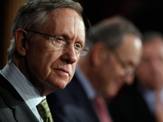 Senate Majority Leader Harry Reid (D-NV) sounds like he's ready to make concessions on the budget.