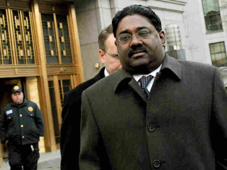 Raj Rajaratnam, the billionaire founder of the Galleon Group, a major hedge fund, leaves Manhattan federal court in New York in February.