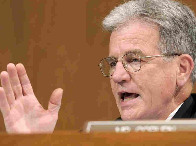 Sen. Tom Coburn, shown on Capitol Hill in this June 2010 photo.