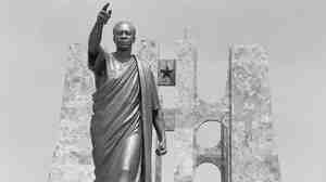 Kwame Nkrumah Masoleum is the final resting place of Ghana's first president, who