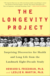 Cover, The Longevity Project