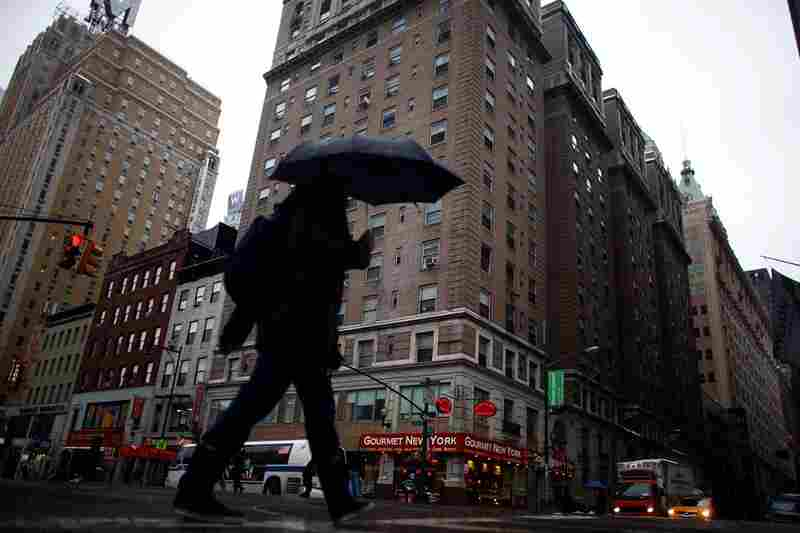 The Times Square Building in New York City is the largest permanent supportive housing project in the United States.