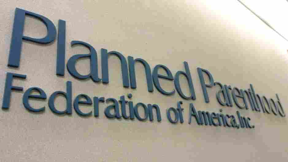 The offices of the Planned Parenthood Federation's national office in New York City. The House of Representatives has passed an amendment that would cut federal funding to the organization.