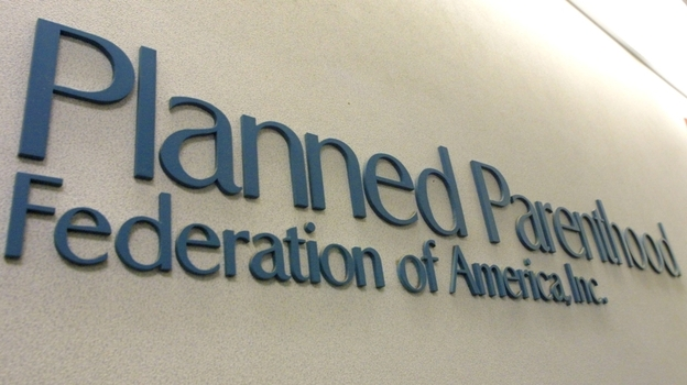 The offices of the Planned Parenthood Federation's national office in New York City. The House of Representatives has passed an amendment that would cut federal funding to the organization. (Getty Images)