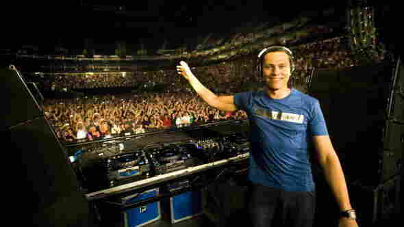 This many people times 300: Tiësto performs at the 23,000 capacity O2 Arena in London in 2008. He's got more than 7 million fans on Facebook.