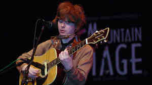 Fionn Regan performed on Mountain Stage.