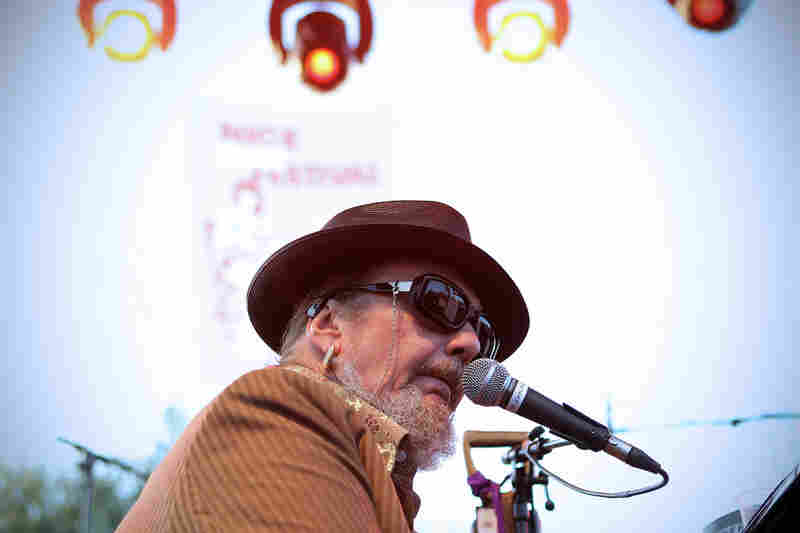 Recorded in 1972, Dr. John's Gumbo remains a cornerstone of New Orleans music. He performs during the Nice Jazz Festival in 2010.