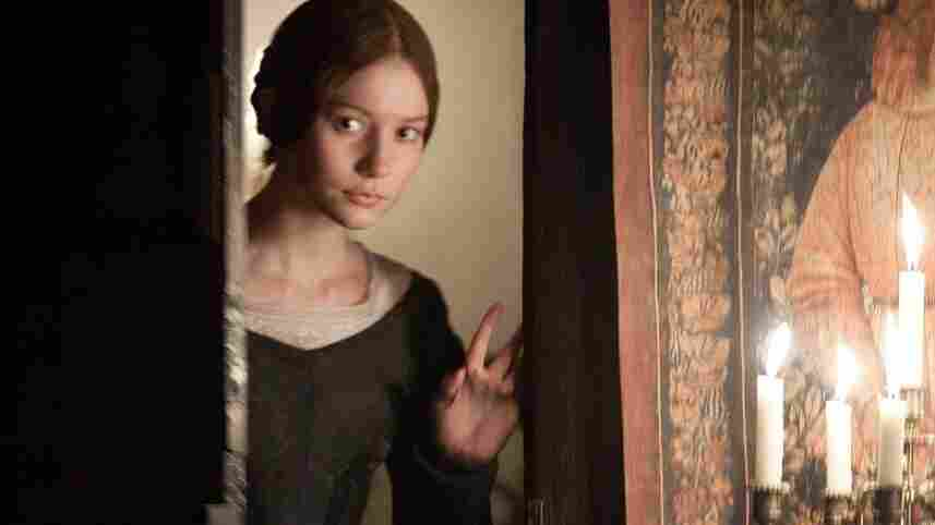 Mia Wasikowska is Jane Eyre in Cary Fukunaga's new adaptation of the Bronte novel.