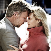 Mikael Persbrandt stars in Susanne Bier's In A Better World as a doctor struggling both with his work in a strife-plagued refugee camp and with his relationships (Trine Dyrholm plays his wife) at home in Denmark.