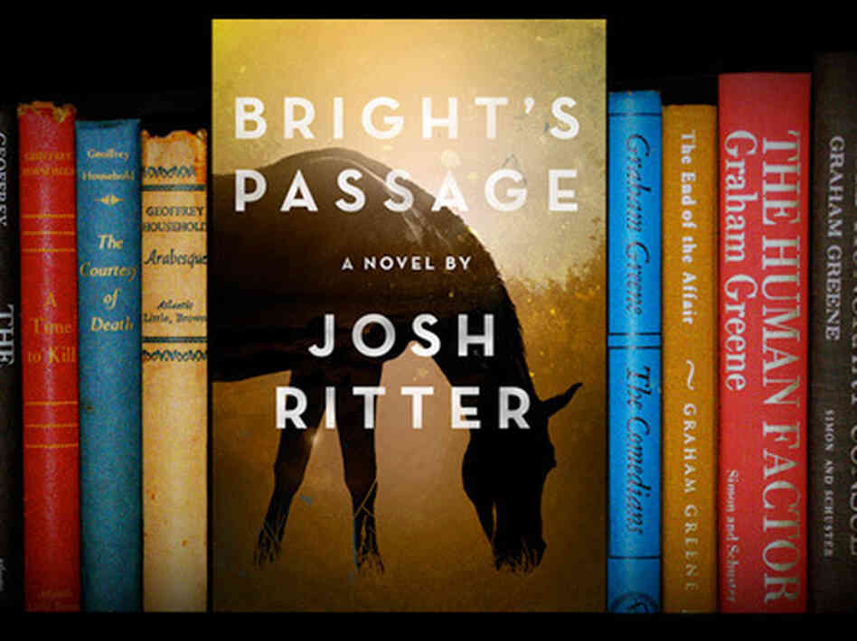 The cover to Josh Ritter's debut novel, Bright's Passage.