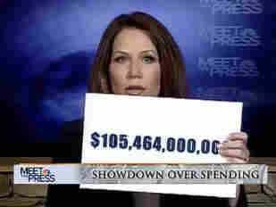 """""""Unbeknownst to members of Congress, over $105 billion was hidden in the 'Obamacare' legislation,"""" GOP Rep. Michele Bachmann said Mar. 6 on Meet The Press. Democrats dispute the """"unbeknownst"""" bit."""