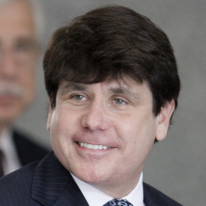 Former Illinois Gov. Rod Blagojevich.