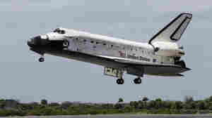 Space Shuttle Discovery Lands For Last Time