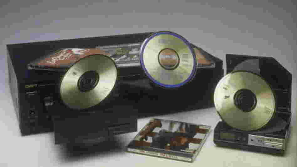 Before The Fall: CD players manufactured by Sony and by Nakamichi in 1985.