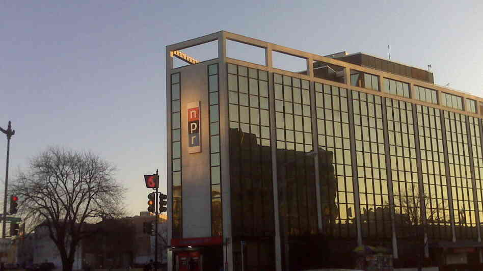 Sunrise at NPR HQ in Washington, D.C.