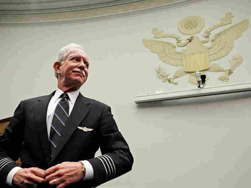 """US Airways pilot Chesley Sullenberger was hailed a hero by many after landing his disabled plane in the Hudson River. He, himself, though, says his actions don't meet the threshold of heroism. """"Sometimes in our culture we overuse the word,"""" he said, """"and by overusing it we diminish it."""""""