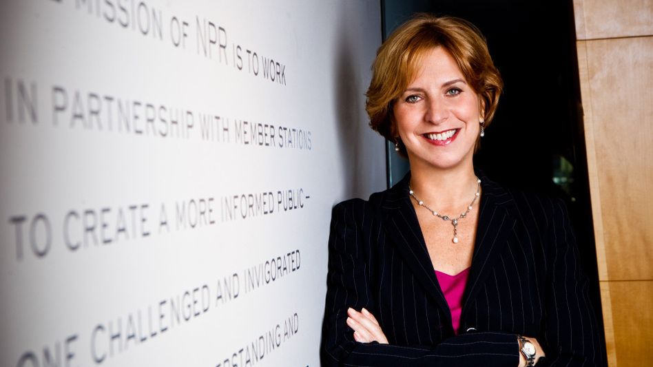 NPR's Board of Directors accepted Vivian Schiller's resignation. (Stephen Voss)