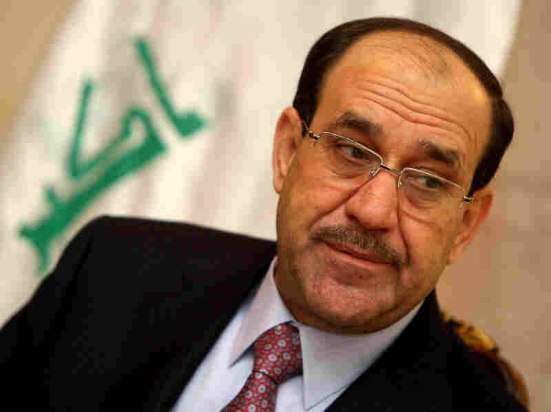 Iraqi Prime Minister Nouri al-Maliki, shown in Baghdad on Feb. 5, has given his government 100 days to clean up its act and show the public the government can provide basic services.