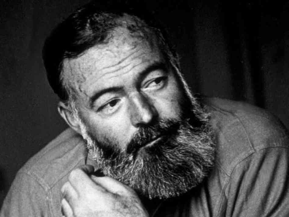 American writer and war correspondent Ernest Hemingway (seen here in July 1944) has inspired Lynn Neary to think about the books she wants to read again. What are yours?