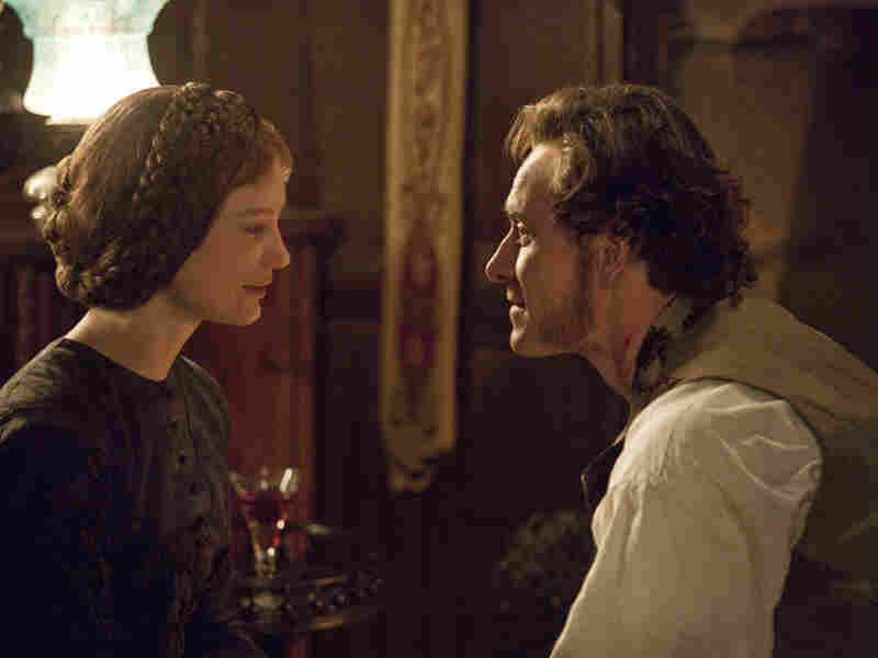 """Mr. Rochester (Michael Fassbender) and Jane Eyre (Mia Wasikowska) navigate the murky waters of love once again in Fukunaga's  adaptation. The heroine remains as steel-spined as ever, the director says — """"willing to throw away ... [an] opportunity to live for love"""" if it means sacrificing her self-respect."""