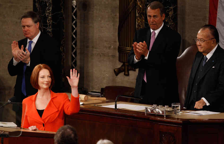 Speaker John Boehner needs an aide schooled in official etiquette to help the House's top official stay on the right side of foreign dignitaries like Australian Prime Minister Julia Gillard.