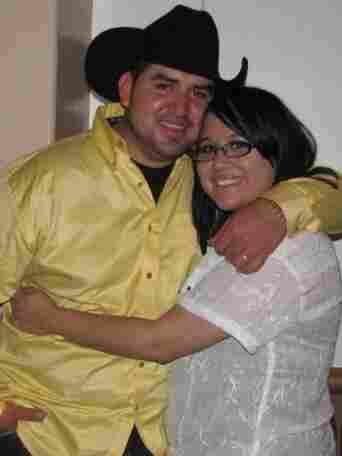Martin Antonio Diaz and his girlfriend, Amanda LeClair