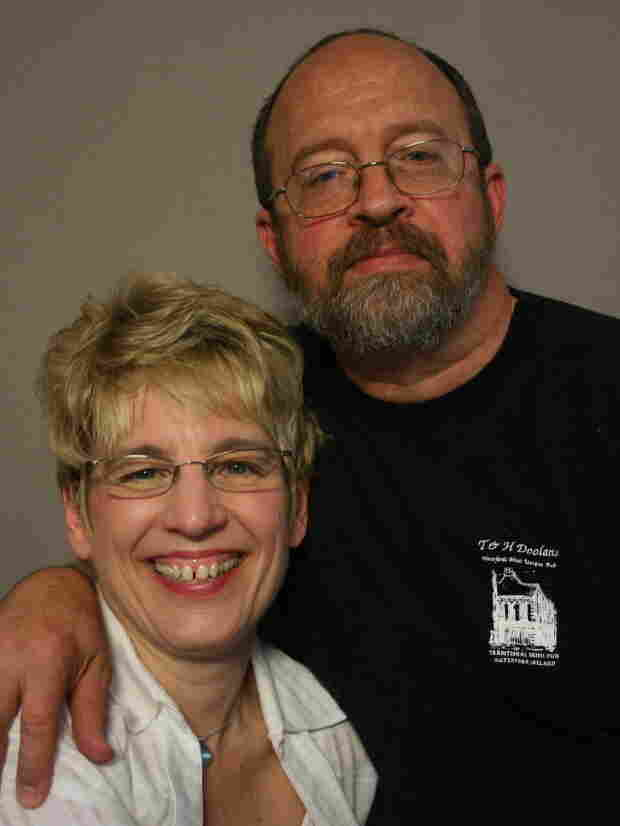 Kelly Krieg-Sigman and Michael Sigman visited StoryCorps in La Crosse, Wis.