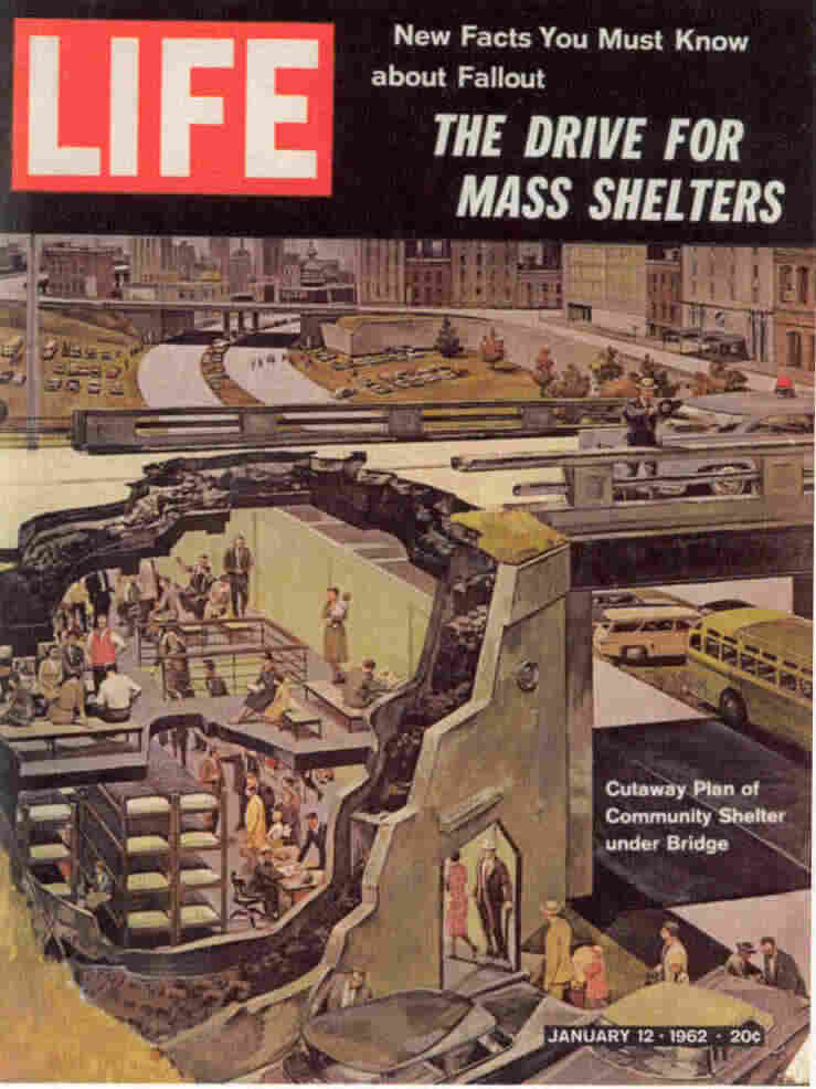The cover of Life magazine, 1962.