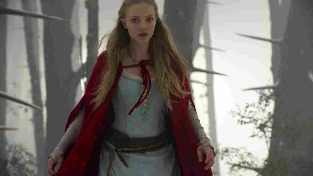 Babe In The Woods: Amanda Seyfried's young Red — her name turns out to be Valerie, who knew? — is a sloe-eyed young vixen with appetites every bit as carnal as that notorious wolf's.