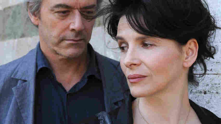 Performance, Art: William Shimell and Juliette Binoche play an author and a gallery owner in an Abbas Kiarostami romance that is as allusive as it is elusive.