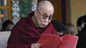 The Dalai Lama delivers an address on March 10, 2011.